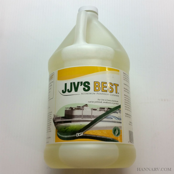 JJVs Best ALU100-G Aluminum Pontoon Cleaner Gallon