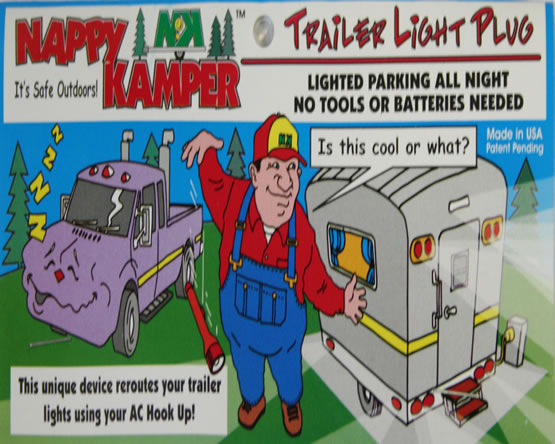 AP Products 008-100 Nappy Kamper Trailer Light Plug   Hanna Trailer ...
