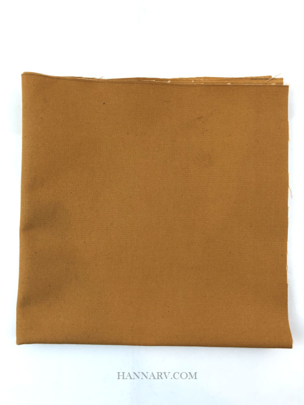Pop Up Camper Cotton Canvas Patch - 18-inch x 18-inch - Cinnamon Brown