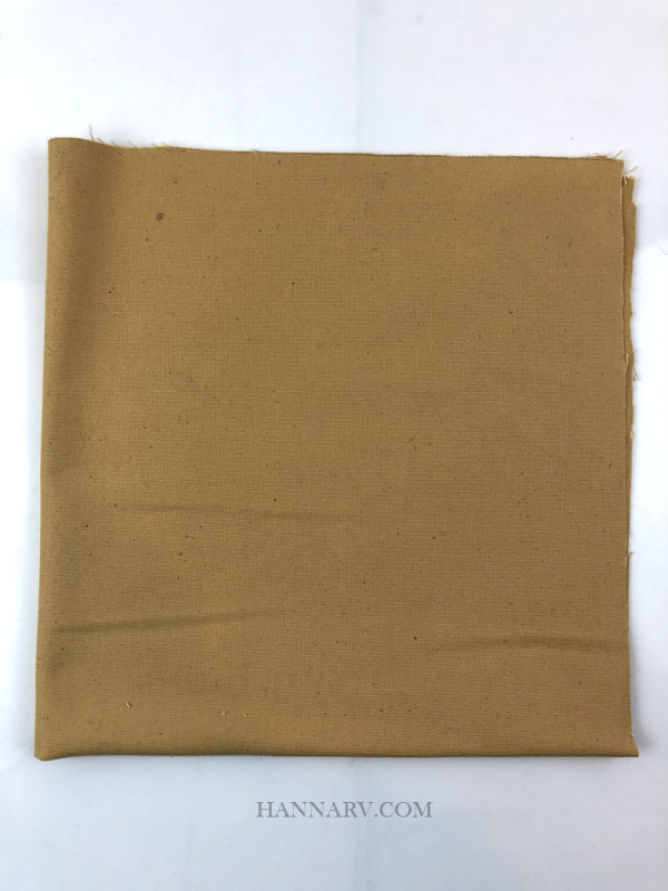 Pop Up Camper Cotton Canvas Fabric - 18-inch x 18-inch - Light Brown