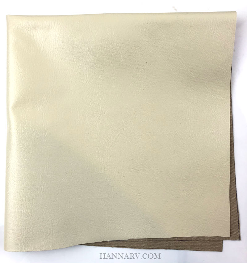 "Pop Up Camper Reinforced Vinyl Fabric - 18"" x 18"" - Beige"