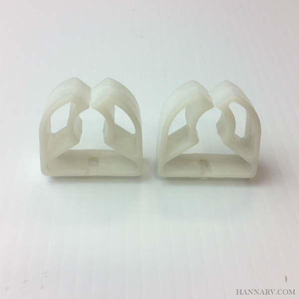 Replacement Plastic Clips for 12 Volt Fan & Bunk Lights - 2 Pack