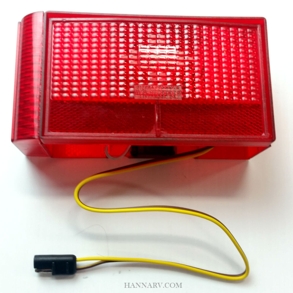 Shorelander 5110008 Left Side Tail Light - Curved Outside