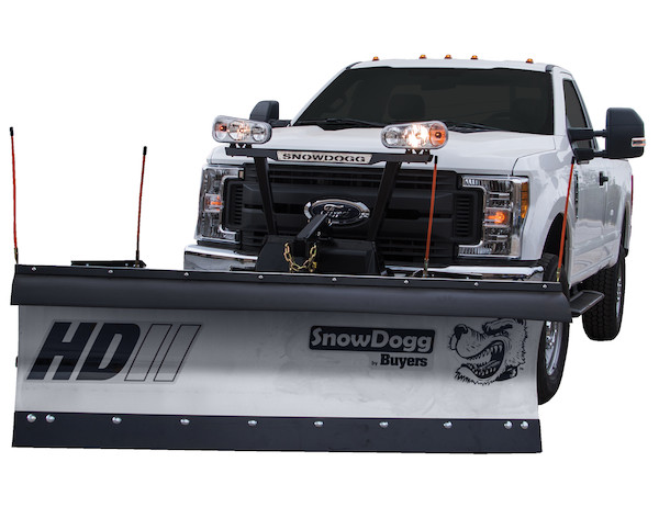 snowdogg hd80 ii stainless steel snow plow - snowdogg hd series plow for  1/2 or 3/4 ton trucks