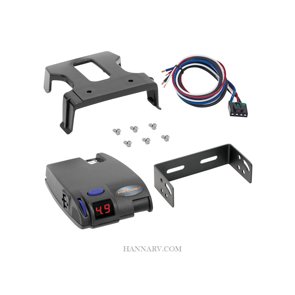 Tekonsha 90160 Primus Iq Proportional Trailer Brake Controller 1 Ford Wiring Harness To 3 Axles