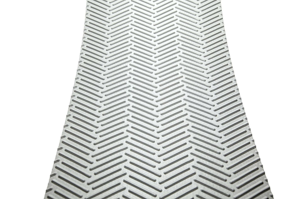 Treadway 18-Inch x 8-Inch Gray Traction Pads - Great for Steps, RV Roofs & Cargo Ramps - 5 Pack