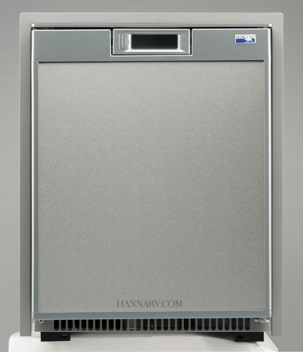 norcold nr740ss 1 7 cubic foot ac dc refrigerator stainless steel rh hannarv com Norcold Boat Refrigerators Norcold Refrigerator eBay