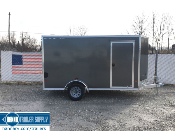 trailer sales, trailers, trailers for sale, used enclosed cargo trailer
