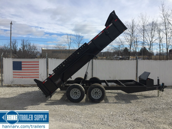 Midsota dump trailer, heavy duty, bumper pull