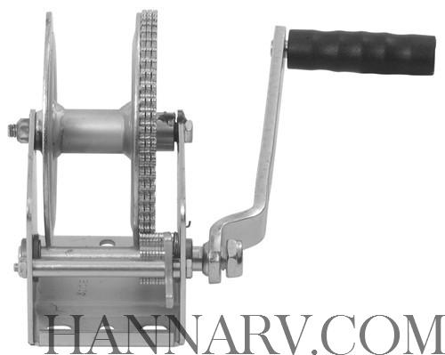 Dutton-Lainson 14627 DL1802A Trailer Hand Winch - 1800 Lbs Capacity - 5 4:1  Gear Ratio