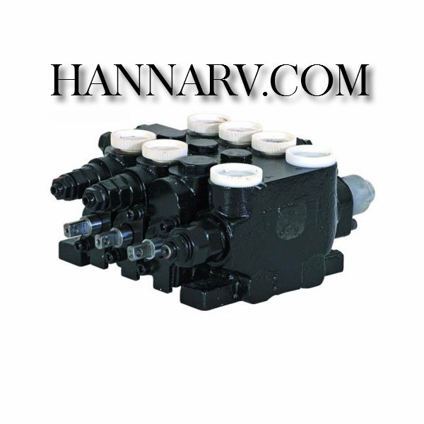 Buyers 20344P HydraStar 3-Section Valve with Power Beyond