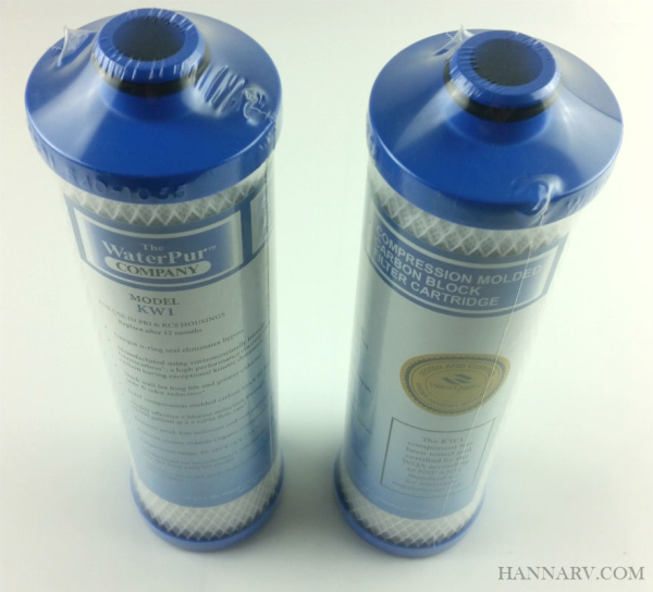 The Water Pur Company Rcs 10 Inch Rv Water Filter Canister