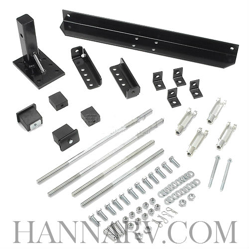 Buyers 0207005 2 Inch Receiver Mount Package For SaltDogg TGS01A and TGS01B Tailgate Salt Spreaders