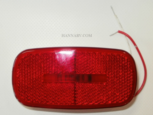 Diamond Group 52714 Hi-Intensity 2-LED Red Sidemarker Clearance Light