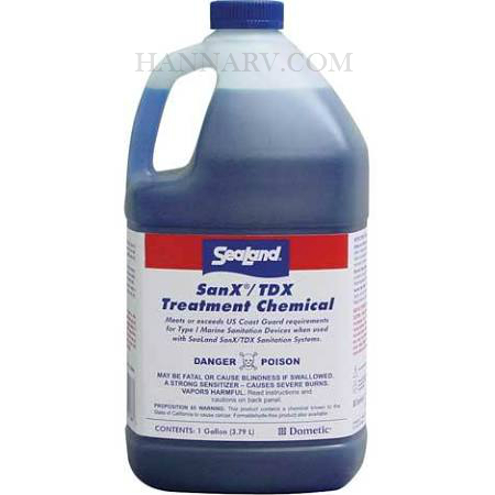 Dometic 373348666 SeaLand SanX/TDX Marine Toilet Treatment Chemical - 1 Gallon