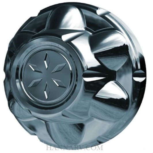 Dicor Products TAC545-C Versa-Lok 5 Lug On 4.5 Inch Chrome ABS Trailer Wheel Hub Cover