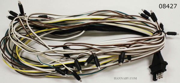 triton 08427 snowmobile trailer wire harness triton 08427 hanna rh hannarv com Triton Boat Trailer Parts Pontoon Trailers