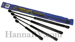 JR Products GSNI-6642 Black Nitride Shaft Gas Springs - 14.5 inch 35 lbs.
