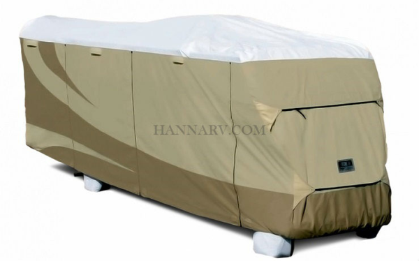 ADCO RV Cover Class C Designer Series Motor Home Contour - Fit 3 Layer RV Tyvek Length 23-26 - 32813