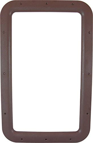 Valterra A77013 Interior Entrance Door Window Frame - Brown