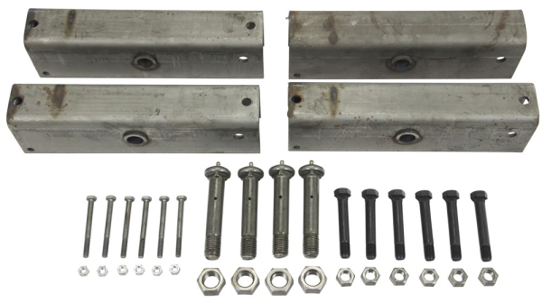 Triple Axle Equalizer Kit Ap316 Fits 2 Inch Slipper