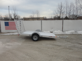 Triton AUT10-64 All Aluminum Utility Trailer With Ramp Gate