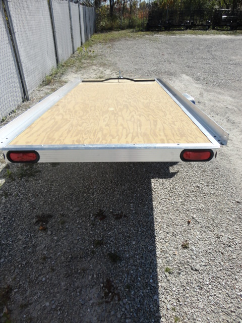 Triton Aluminum Snowmobile Trailer XT45 Karavan Mission Aluma Blaze SledBED Newmans triton xt4 5 10 foot aluminum single sled tilt bed snowmobile newman sled bed trailer wiring diagram at aneh.co