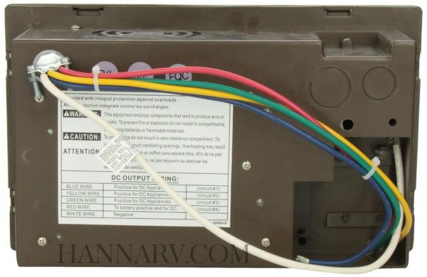 Wfco Wf 8712p 12 Amp Power Converter Hanna Trailer