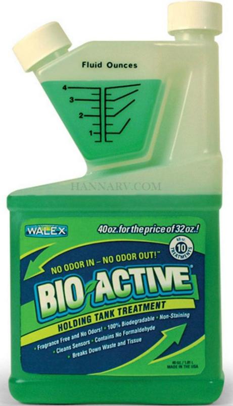 Walex Bio 72240 Rv Marine Bio Active Liquid 40 Oz All