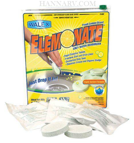 Walex Toi 61776 Elemonate Triple Action Formula Grey Water