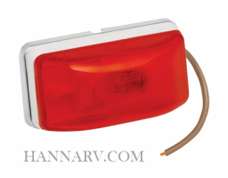 Wesbar 203234 Red Stud Mount Waterproof Combination Sidemarker And Clearance Light_THL lights and wiring for snowmobile trailer hardware and wesbar trailer connector wiring diagram at webbmarketing.co
