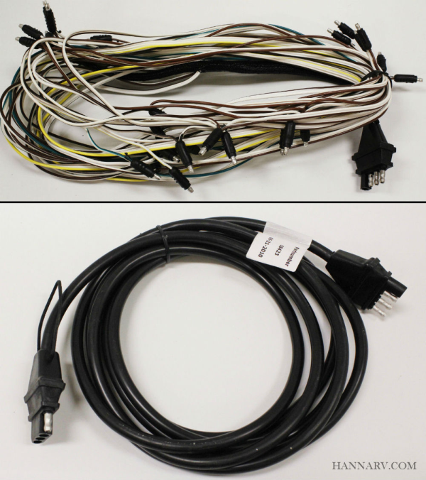 Wiring Harness For Triton Trailer : Triton snowmobile trailer wire harness with
