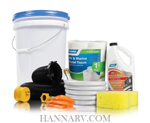 Camco Mfg 44760 Level 1 Rv Starter Kit Bucket Hanna