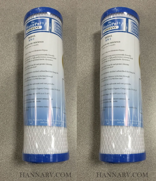 The Water Pur Company Cci 10 Ca 10 Inch Water Filter Fr