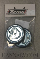 Triton 07835 Flush Mount Tie Down Kit
