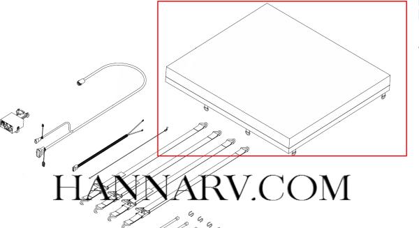 buyers 3006964 black 18 oz coated vinyl tarp for the