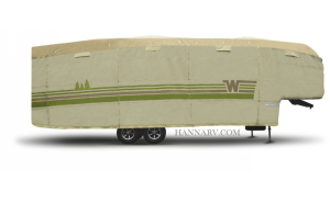 ADCO 64855 5th Wheel And Toyhauler Trailer RV Cover For Winnebago 31-feet To 34-feet