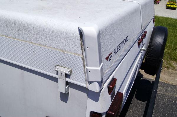 Roof Corner Caps On Coleman Fleetwood Pop Up Camper