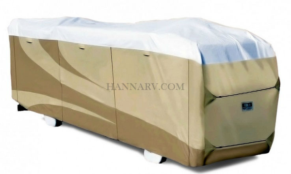 ADCO RV Cover Designer Series Class A Motor Home Contour - Fit 3 Layer Tyvek Length 34.1 - 37