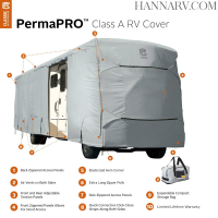 Classic Accessories 80-145 PermaPRO Class A RV Cover 30-feet - 33-feet