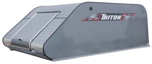 Triton T10-4x4-CP Aluminum Snowmobile Trailer Coverall 10Ft Front & Rear Opening With 4x4 Access Doo