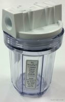 The Water Pur Company CCI-5-CLW12 5-inch Water Filter Canister