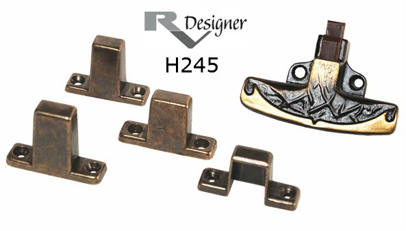 RV Cabinet Hardware T-handle Positive Latch With Strikes For RV Cabinet Door