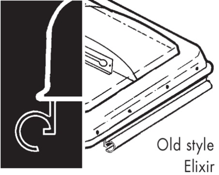 Older Elixir Hinge RV Vent And Cover Hinge Diagram