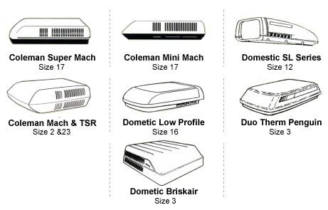 Adco 3021 polar white vinyl rv rooftop air conditioner cover for duo adco air conditioner rv covers publicscrutiny Choice Image