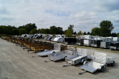 Hanna Trailer Supply Motorcycle Trailer Inventory