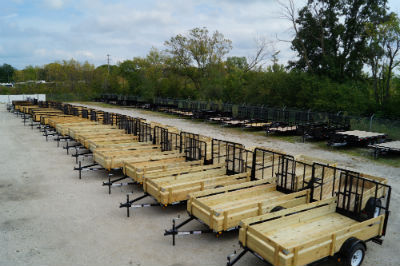 Hanna Trailer Supply Trailer Inventory Lot Fall 2013 Sale