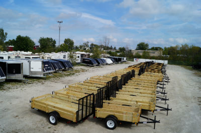Huge Trailer Inventory In Stock At Hanna Trailer Supply