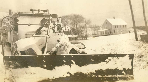 Older Snowplow In Need Of Repair