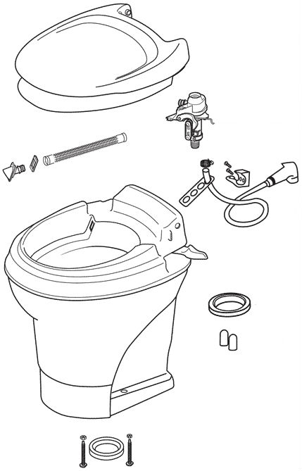 Dometic Toilet Valve Replacement